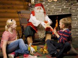 Рождественские каникулы на родине Санта Клауса в Лапландии!