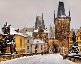 Зимняя сказка в Праге-скидки на туры из Астаны!
