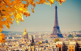 Осень в Париже,прекрасная пора для прогулок! Туры со скидкой из Астаны!